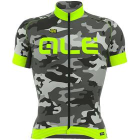 Alé Cycling Graphics PRR Camo Kortärmad cykeltröja Herr grå/grön